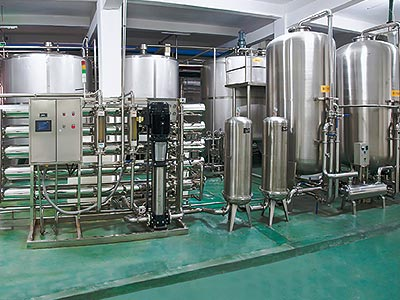 Automatic Pure Water Treatment Systems